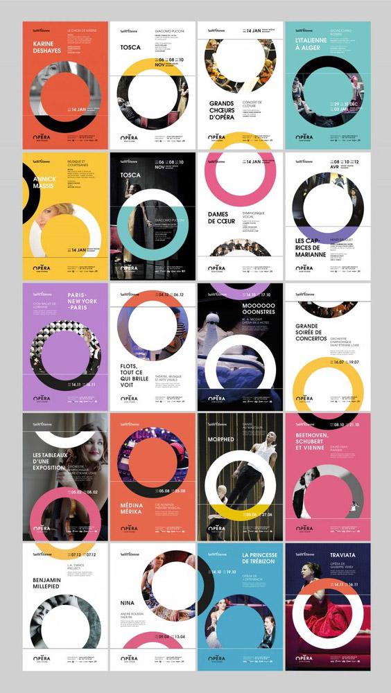 Collections d'affiches de l'Opéra de Saint-Etienne