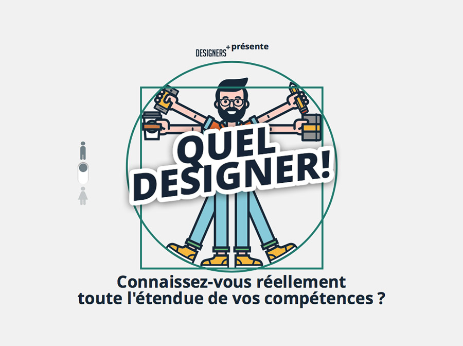 Version homme Quel designer !