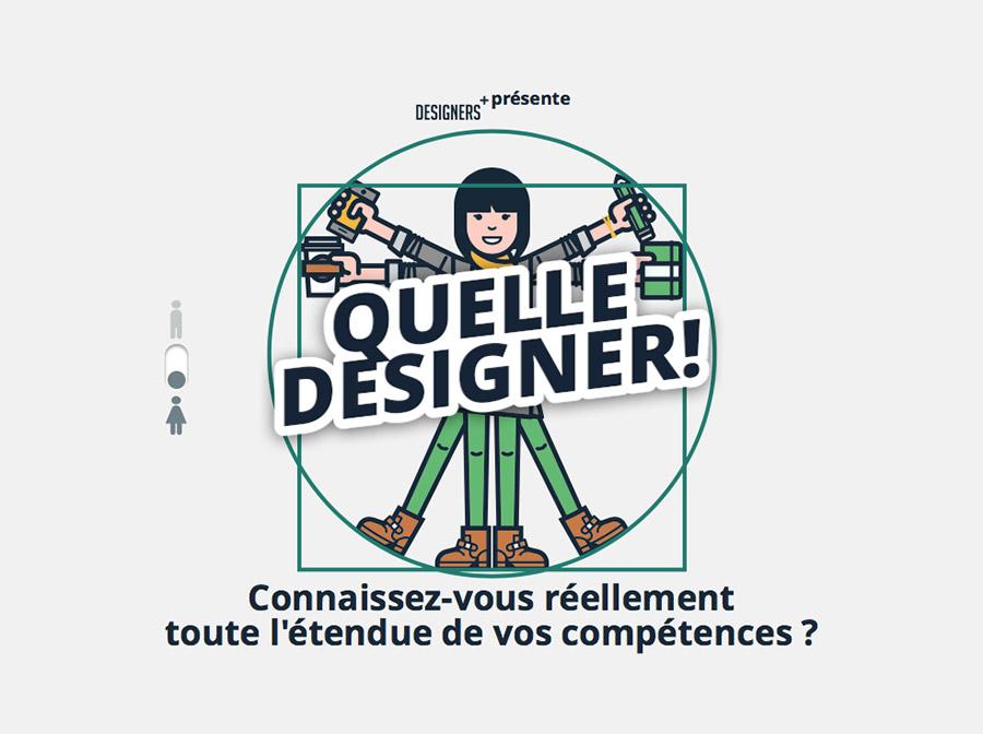 Version femme Quel designer !