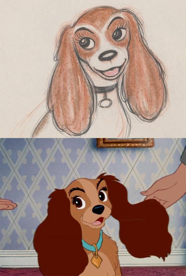 Lady la chienne de la Belle et le clochard