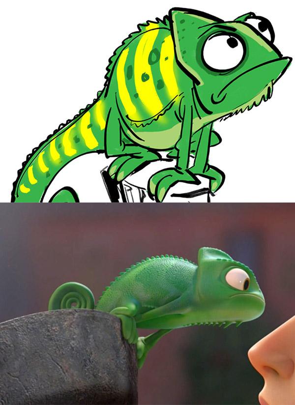 Pascal le caméléon