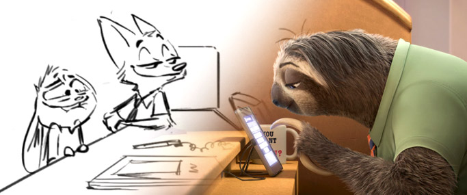 Vignette Zootopie