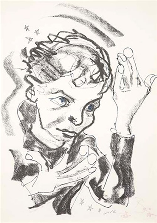 Auto-portrait 1975