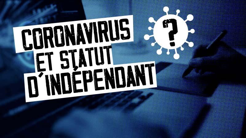 Coronavirus et freelance